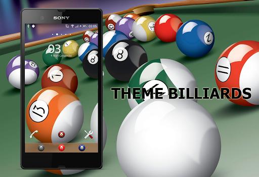 Theme Xperien Billiards