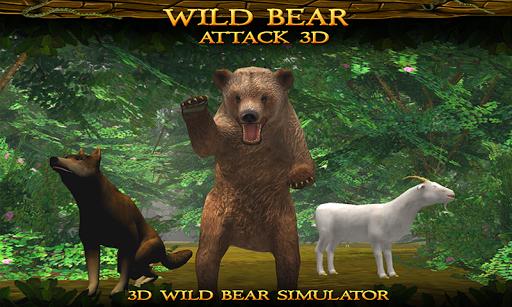 Bear 3D simulator -Wild Attack