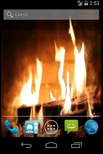 Real Fireplace Live Wallpaper 1.27 screenshots 2