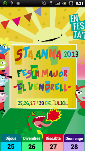Festa Major El Vendrell 2013