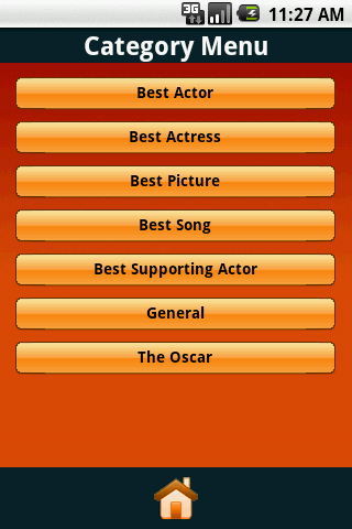The Oscars Trivia Challenge - screenshot