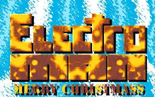 Electro Man Merry Christmass