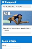 Screenshot of Classic Fail