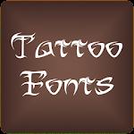 Fonts Tattoo for FlipFont Free 9.07.0