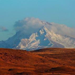 by Halime Pelitçi - Landscapes Mountains & Hills ( mountain, erciyes, kayseri )