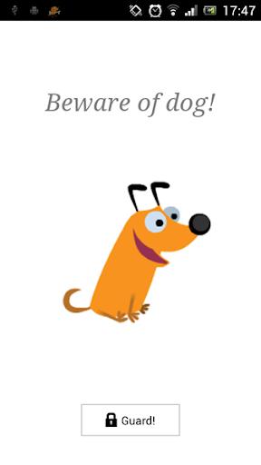 犬のアラーム