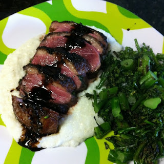 Duck with Broccolini & Tart Dressing