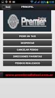 Screenshot of Pasajeros Radio Taxi Premier
