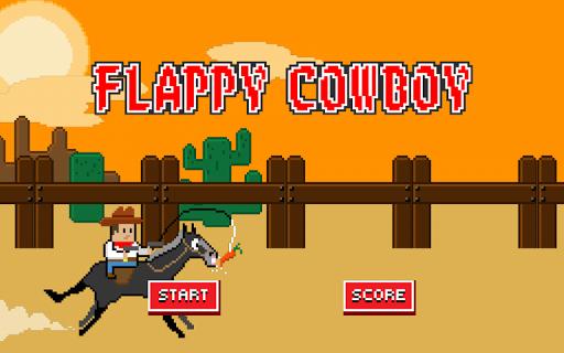 Flappy Cowboy - Smash Shot