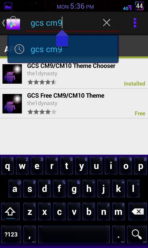 GCS CM9 CM10 CM10.1 AOKP - screenshot