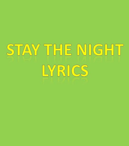 download stay the night lyrics for pc