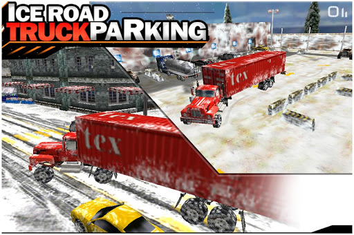 Ice Road Truck Parking 3D Game