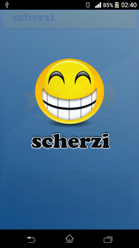 Scherzi