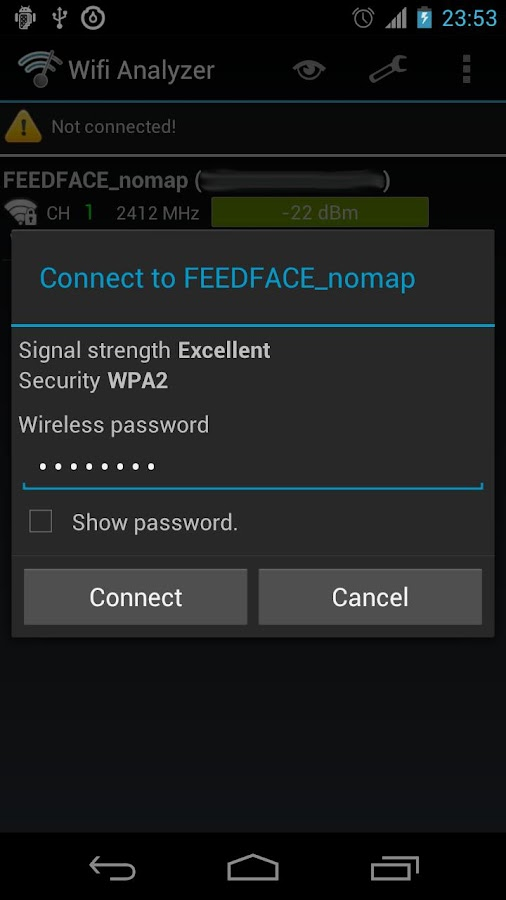 Wifi Connecter Library - screenshot