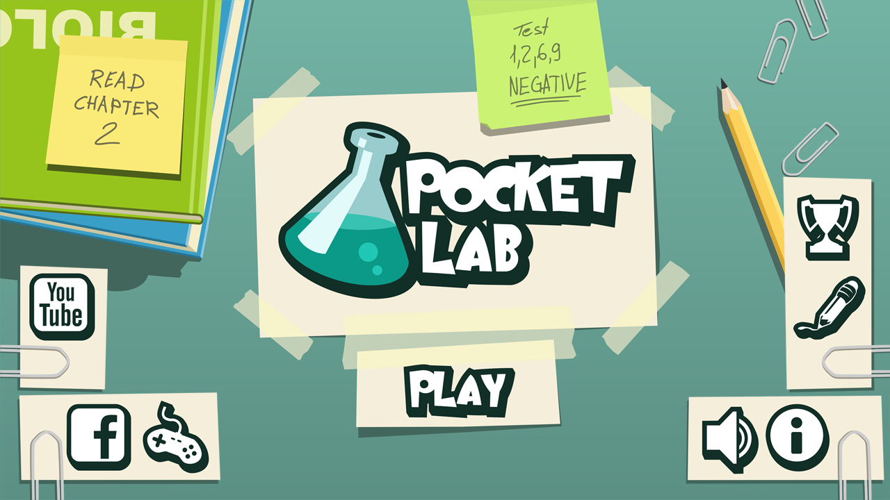 Pocket Lab - screenshot