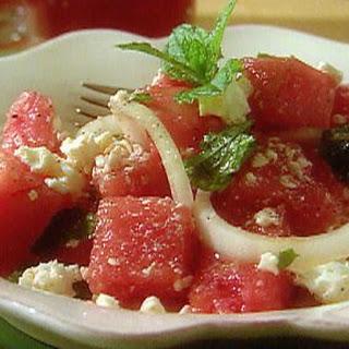 Watermelon And Crab Salad