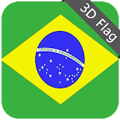 Brazil Flag - High Quality 3D