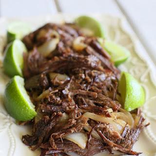 Cuban Shredded Beef.