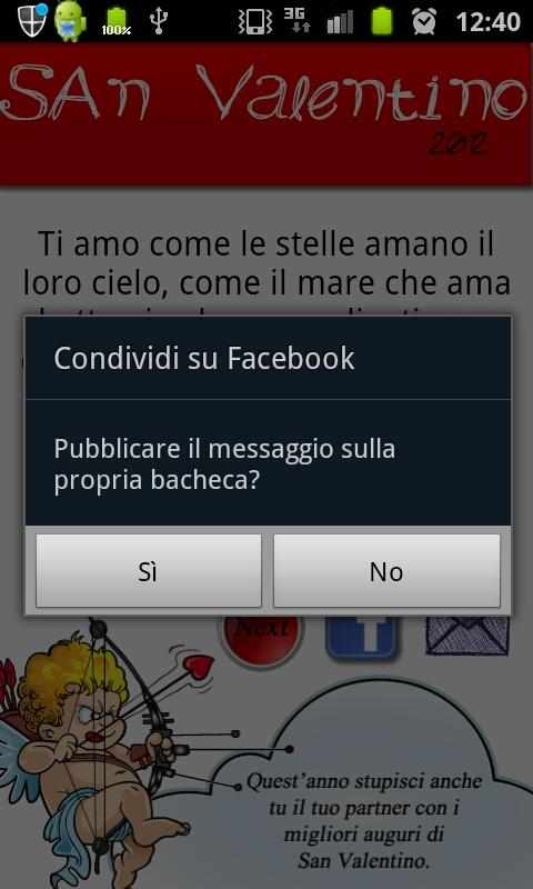 Frasi San Valentino - screenshot