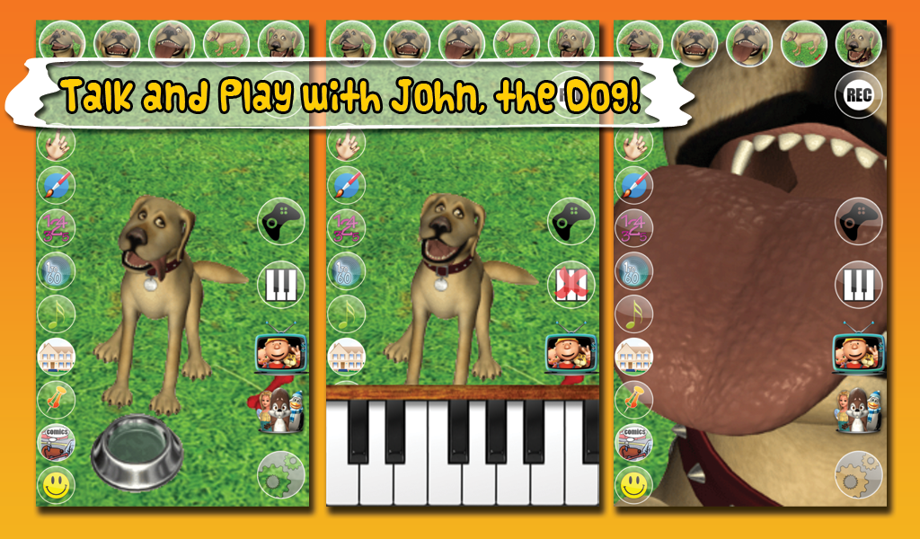 Talking John Dog & Soundboard - screenshot