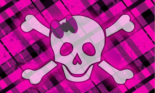 Girly Skull Wallpapers FREE - screenshot thumbnail