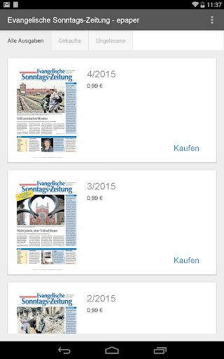 Ev. Sonntags-Zeitung - epaper