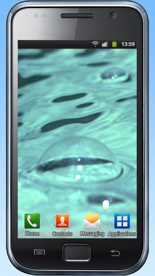 Water drops, bubbles, waves- screenshot