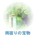 雨宿りの宝物 logo