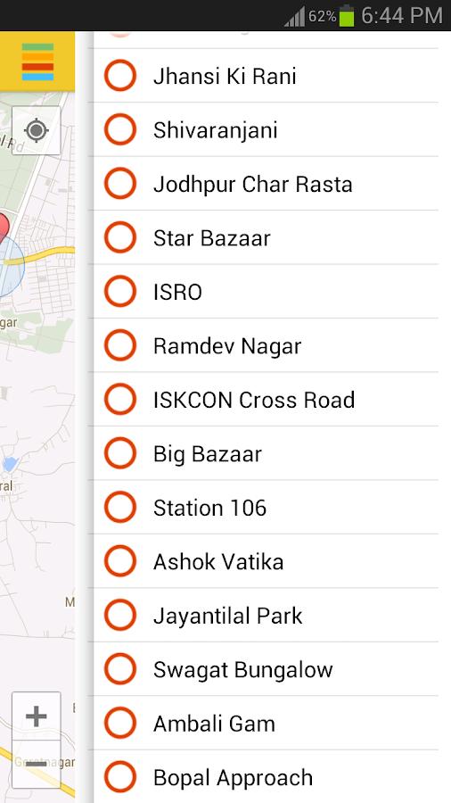 Janmarg BRTS Ahmedabad - screenshot
