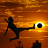 Soccer at Sunset Wallpaper logo