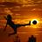 Soccer at Sunset Wallpaper