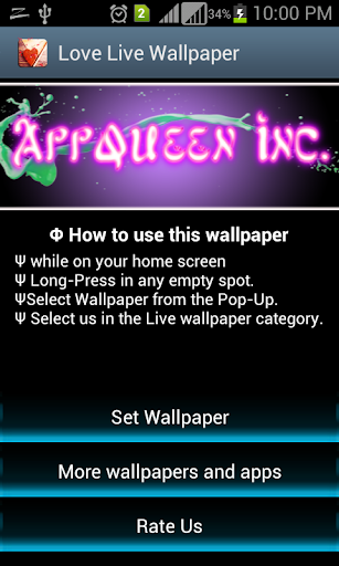 Live Wallpapers Love 3D