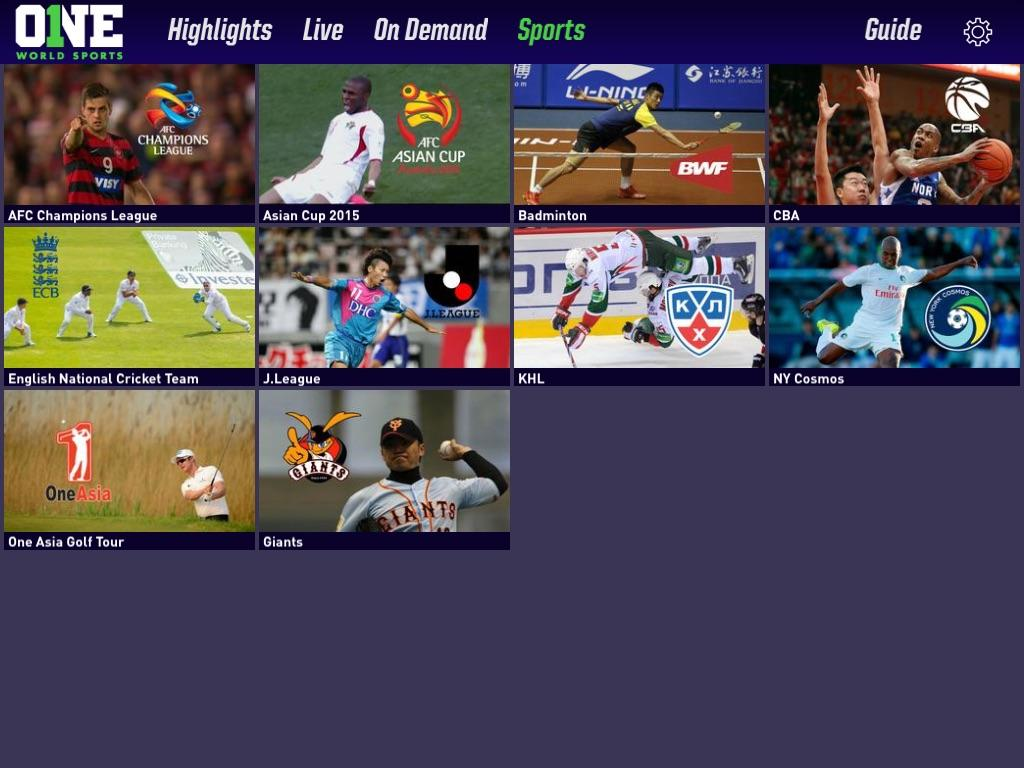 Watch ONE World Sports- screenshot