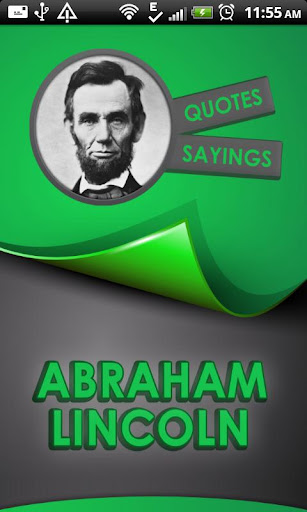Abraham Lincoln Quotes Says