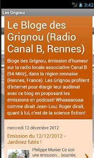 Les Grignou- screenshot thumbnail