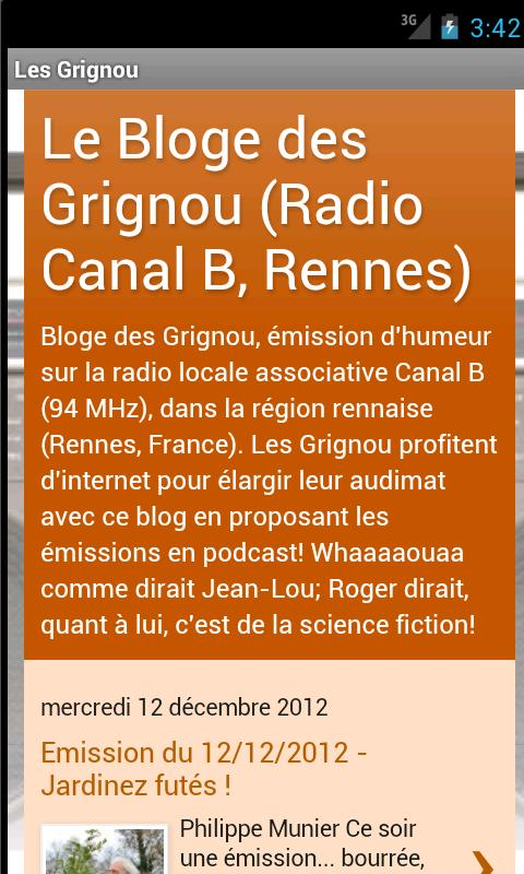 Les Grignou- screenshot