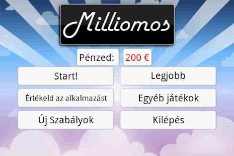 Milliomos- screenshot thumbnail