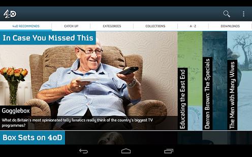 4oD - screenshot thumbnail