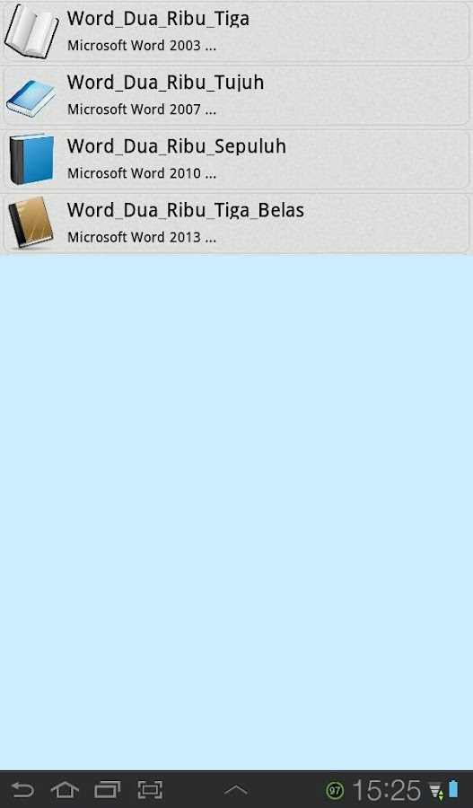 Panduan Microsoft Word - screenshot