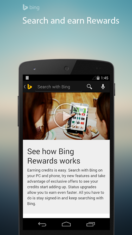 Bing Search - screenshot