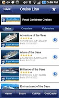 Screenshot of Cruise Finder - iCruise.com