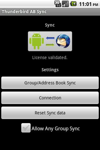 Thunderbird AB Sync Free - screenshot