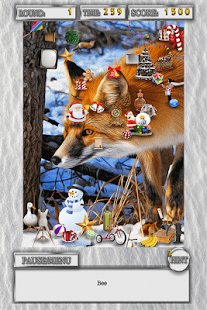 Hidden Object Winter Animals Holiday Objects Game - náhled