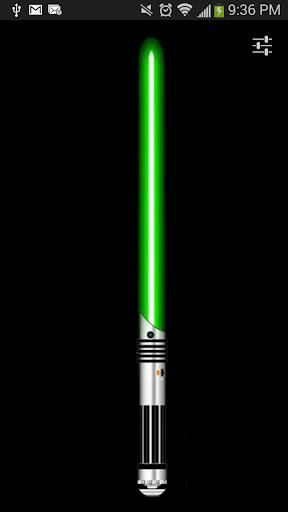 Green Lightsaber Flashlight