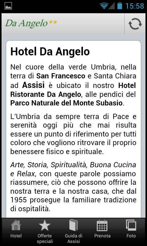 Hotel Ristorante Da Angelo- screenshot