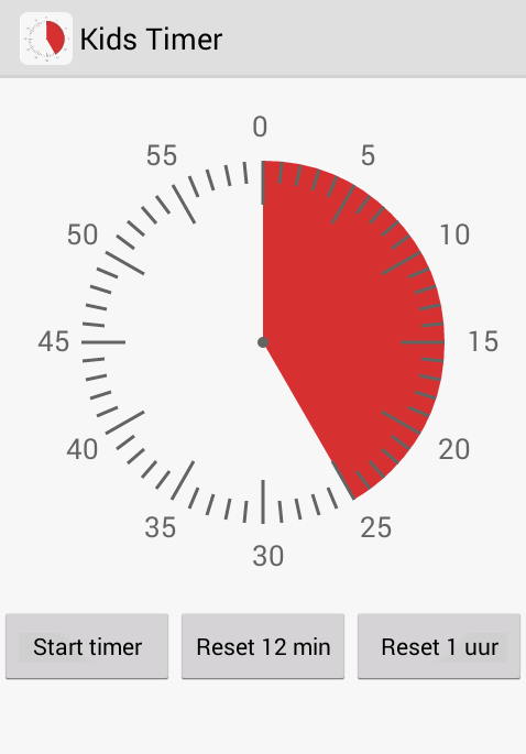 Kids Timer: screenshot
