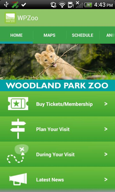 Woodland Park Zoo- screenshot