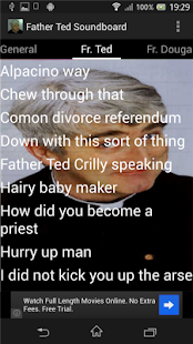Father Ted Soundboard - screenshot thumbnail