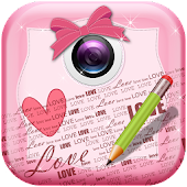 Girly Text on Pictures Deluxe