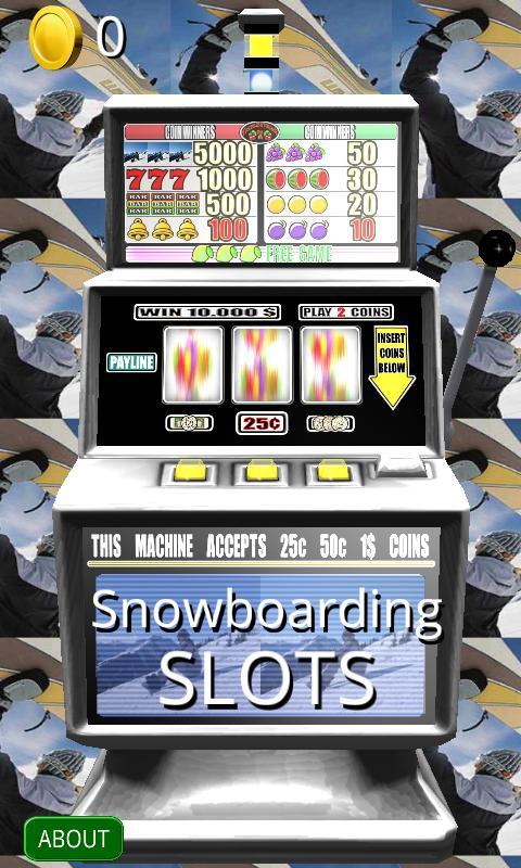 Snowboard slot
